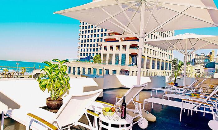 8 יום פינוק בספא מלון Bell בתל אביב