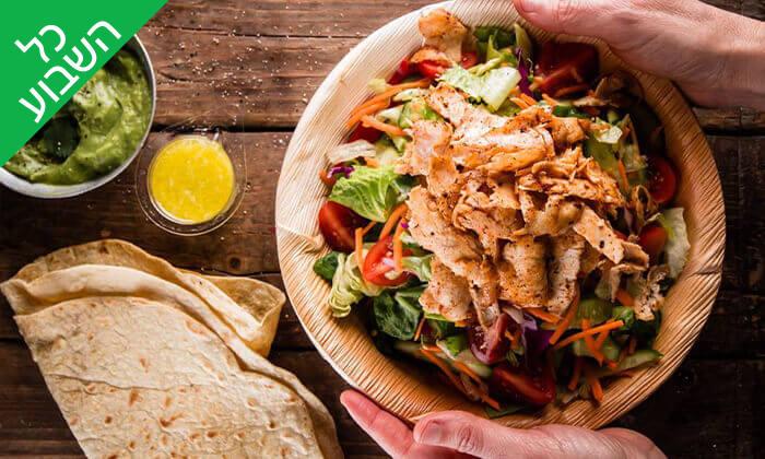 """3 מסעדת קרנף הכשרה - ארוחה בסניף לונדון מיניסטור, ת""""א"""
