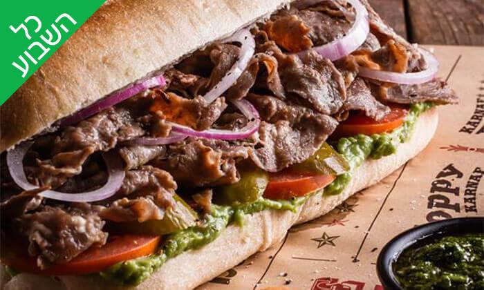 """7 מסעדת קרנף הכשרה - ארוחה בסניף לונדון מיניסטור, ת""""א"""