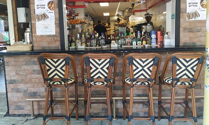 7 קפה היינה בכיכר היינה, חיפה - ארוחת בוקר זוגית