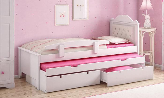 4 מיטת ילדים נפתחת דגם 'פנדורה' של שמרת הזורע