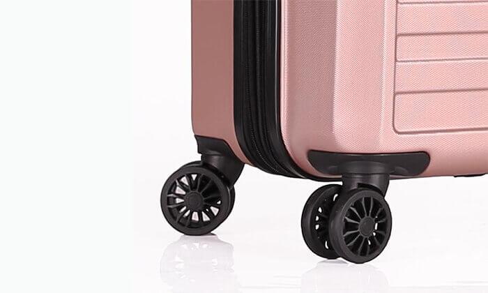 8 3 מזוודות קשיחות SWISS דגם ברלין