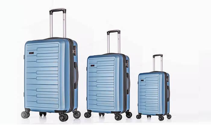 10 3 מזוודות קשיחות SWISS דגם ברלין