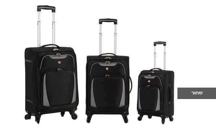 3 סט 3 מזוודות SWISS דגם Summer 2019