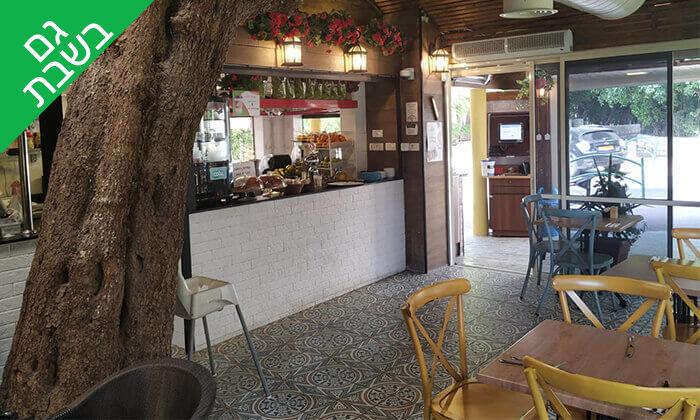 3 קפה היינה בכיכר היינה, חיפה - ארוחת צהריים
