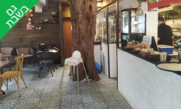 4 קפה היינה בכיכר היינה, חיפה - ארוחת צהריים