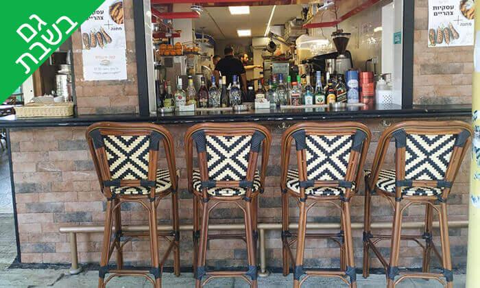 6 קפה היינה בכיכר היינה, חיפה - ארוחת ערב