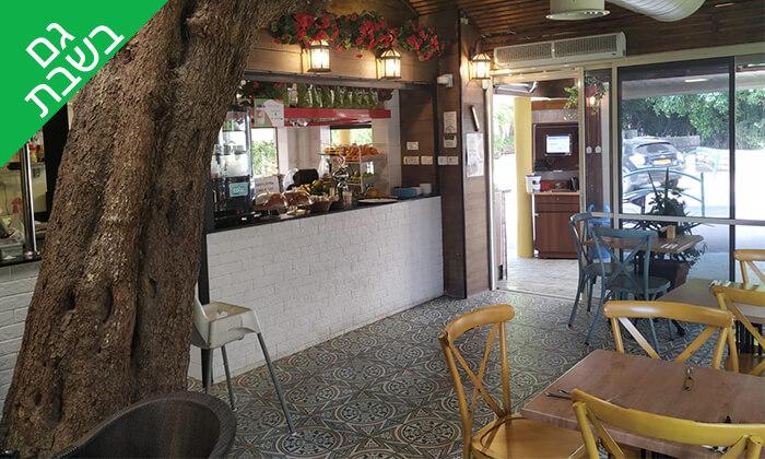 4 קפה היינה בכיכר היינה, חיפה - ארוחה איטלקית זוגית