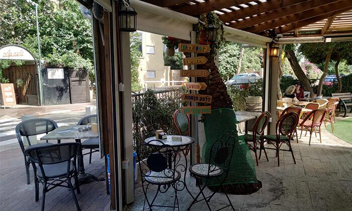 6 ארוחת בוקר לזוג בקפה היינה, כיכר היינה חיפה