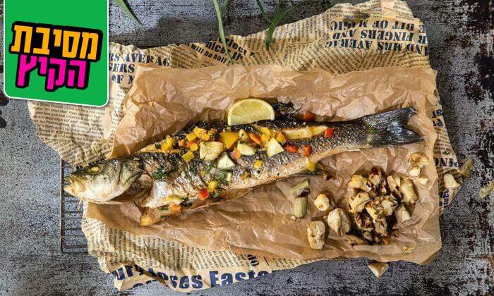 2 בני הדייג בנמל תל אביב - ארוחת צהריים