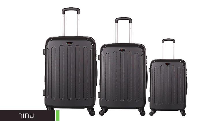 6 סט מזוודות קשיחותSWISS LONDON
