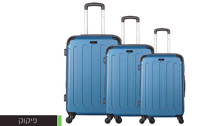5 סט מזוודות קשיחותSWISS LONDON