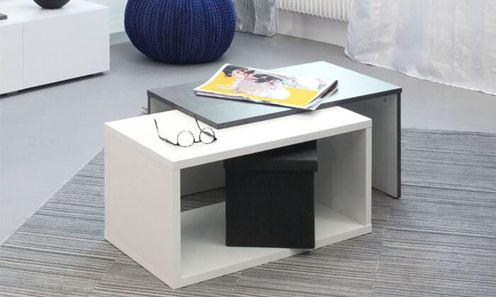 2 שולחן סלון מודולרי BRADEX