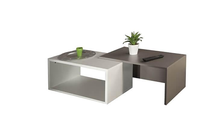 6 שולחן סלון מודולרי BRADEX