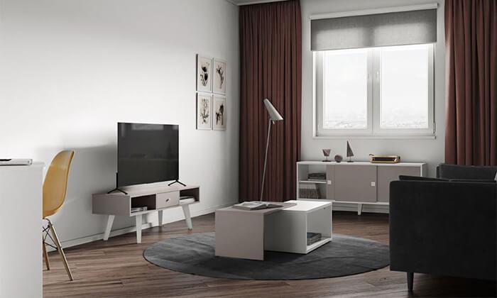 4 שולחן סלון מודולרי BRADEX