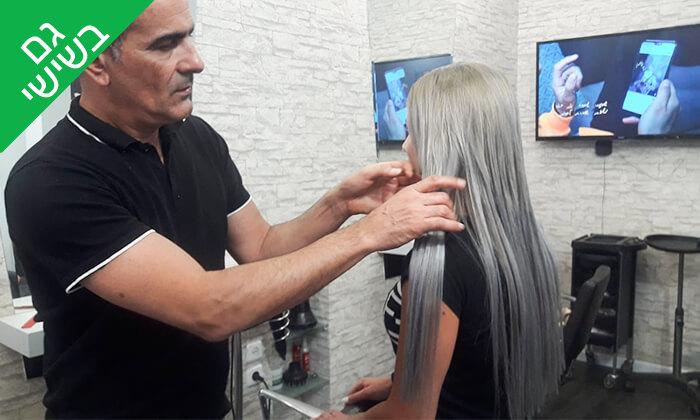 3 גוונים או החלקה - דניאל מרואני עיצוב שיער, חולון