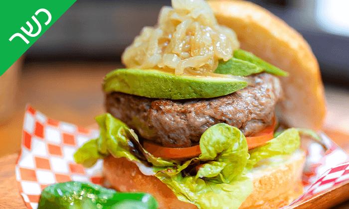 6 אוכל כשר באווירה ספרדית - Iilan's kosher burger bar ברצלונה