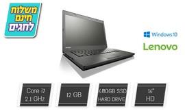 נייד Lenovo עם מסך 14 אינץ'