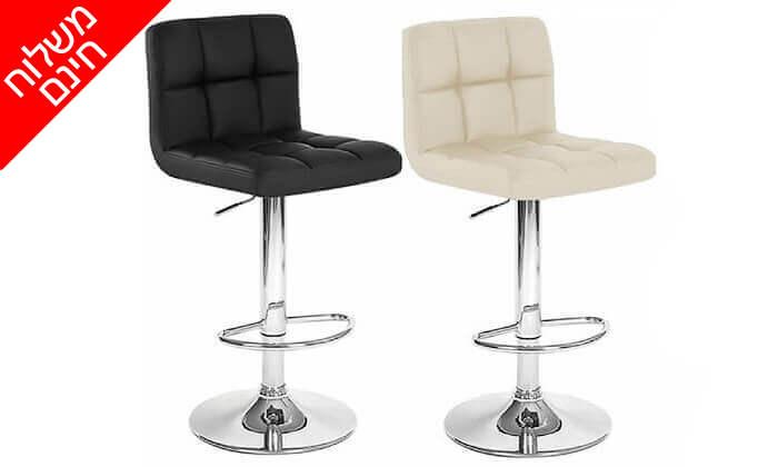 2 2 כיסאות בר מדגם 8028 | משלוח חינם