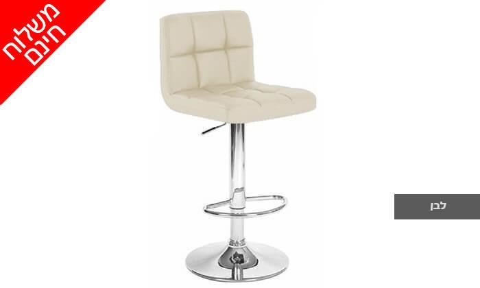 4 2 כיסאות בר מדגם 8028 | משלוח חינם