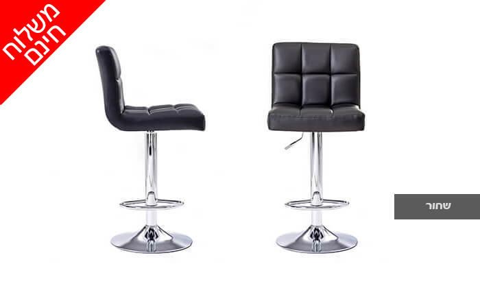 3 2 כיסאות בר מדגם 8028 | משלוח חינם