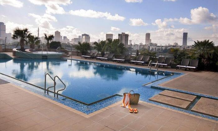 3 יום כיף במלון לאונרדו סיטי טאואר, תל אביב