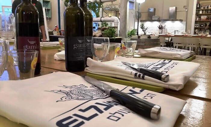 4 מבשלים חוויה בתל אביב - סדנה לבחירה ליחיד, זוג או רביעייה