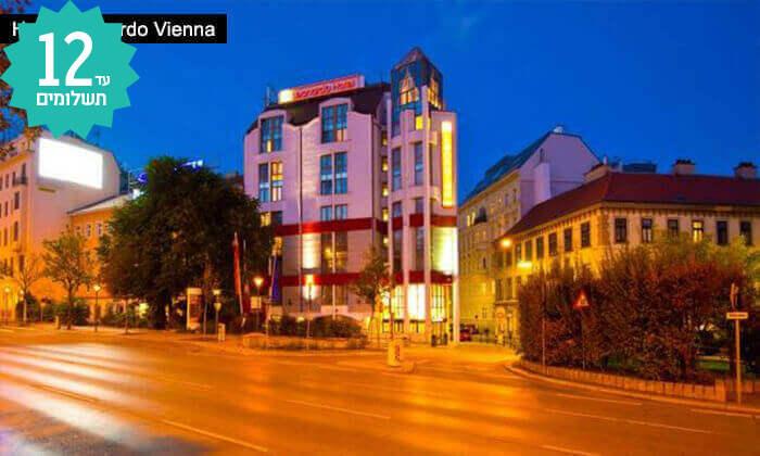 3 חבילת נופש לווינה באוגוסט  - מלון Leonardo