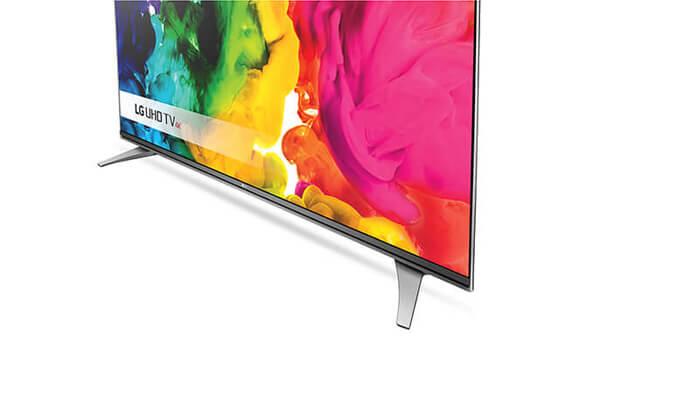 """3 טלוויזיה חכמה SMART 4K LG בגודל """"55 אינץ'"""