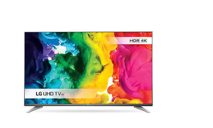 """5 טלוויזיה חכמה SMART 4K LG בגודל """"55 אינץ'"""