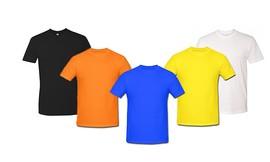 סט5 חולצות שרוול קצר