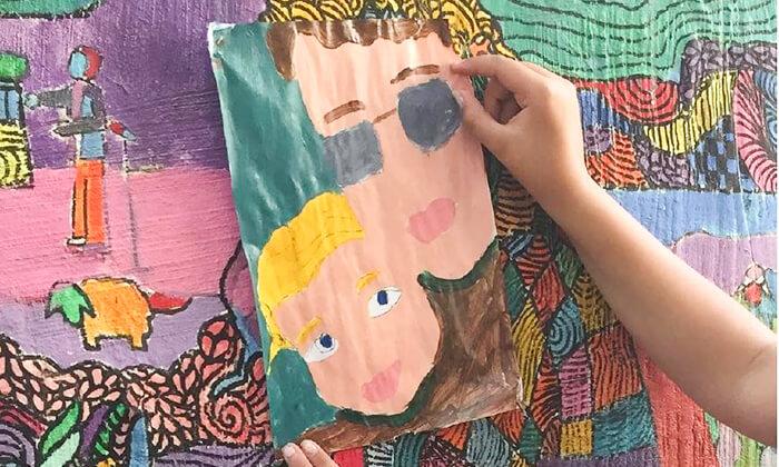"""5 סיור גרפיטי כולל סדנה לילדים בנווה צדק, ת""""א"""
