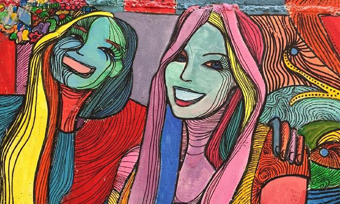 """2 סיור גרפיטי כולל סדנה לילדים בנווה צדק, ת""""א"""