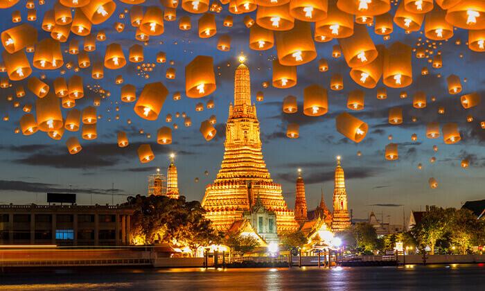 3 חבילת נופש לתאילנד - 2 לילות ראשונים בבנגקוק