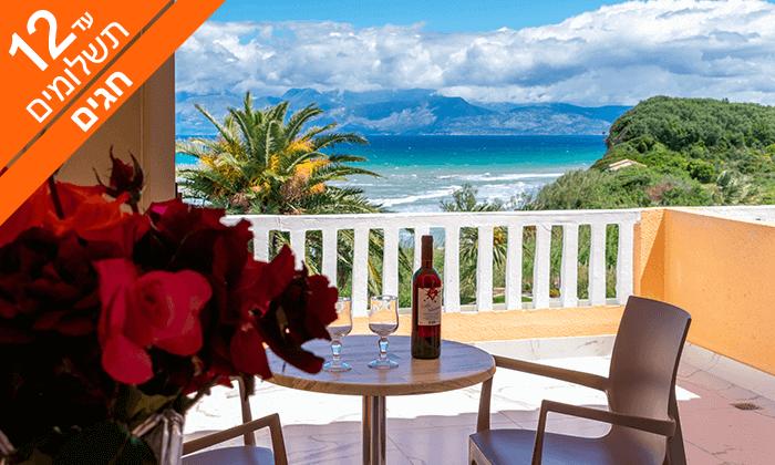 5 האי היווני קורפו - גן עדן כחול ירוק במרחק שעתיים טיסה, כולל חגים
