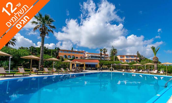 3 האי היווני קורפו - גן עדן כחול ירוק במרחק שעתיים טיסה, כולל חגים
