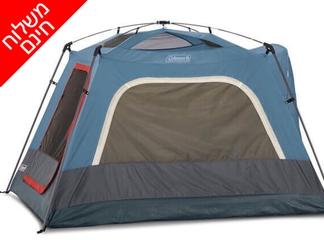 אוהל ל-3 אנשים Coleman