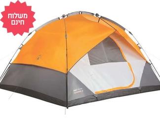 אוהל ל-7 אנשים Coleman