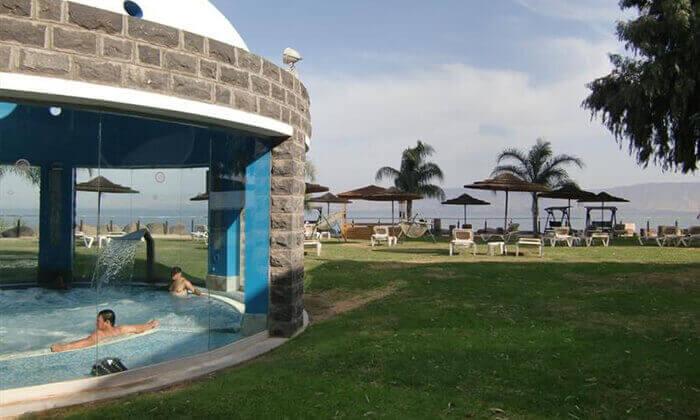 6 מלון רימונים גלי כנרת בטבריה - יום פינוק כולל עיסוי לזוג