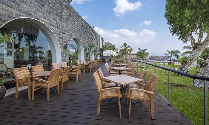 7 מלון רימונים גלי כנרת בטבריה - יום פינוק כולל עיסוי לזוג