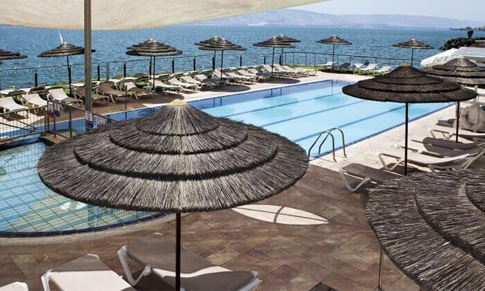 7 מלון רימונים גלי כנרת בטבריה - יום כיף ליחיד או לזוג
