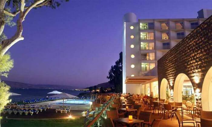 5 מלון רימונים גלי כנרת בטבריה - יום כיף ליחיד או לזוג