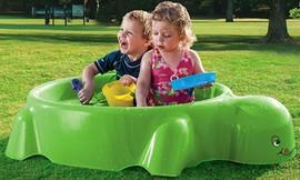 בריכת ילדים לחצר בצורת צב