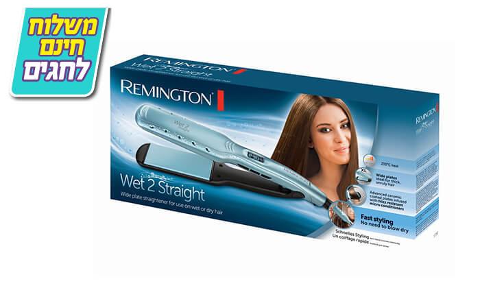 3 מחליק שיער רחב REMINGTON, דגם S7350 - משלוח חינם