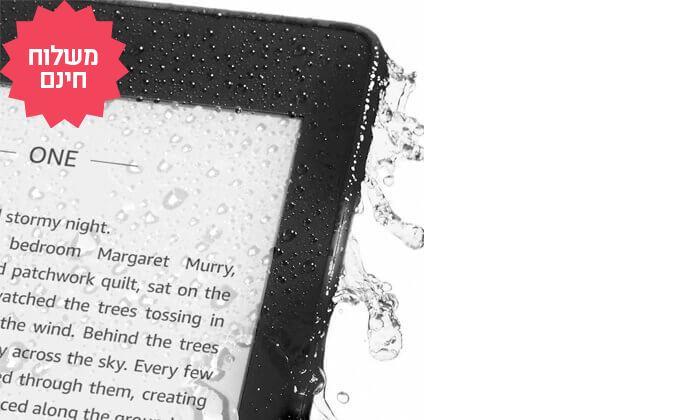 3 קורא ספרים אלקטרוני חסין במים Amazon Kindle Paperwhiteמדגם 2018   משלוח חינם