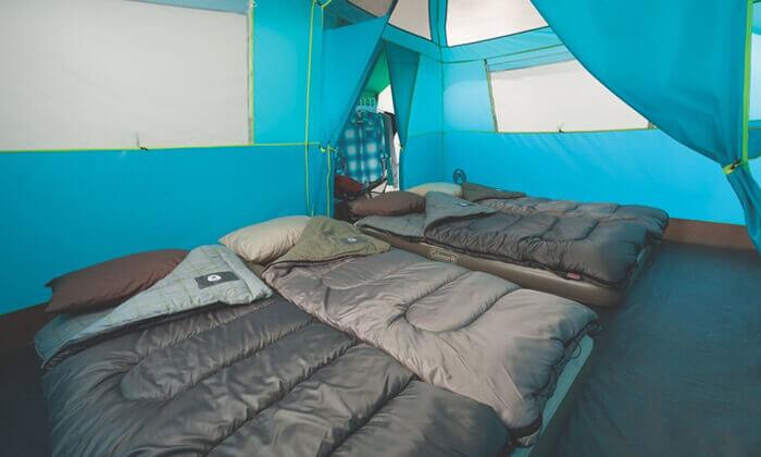 3 אוהל משפחתי ל-8 אנשים Coleman דגם TENAYA LAKE