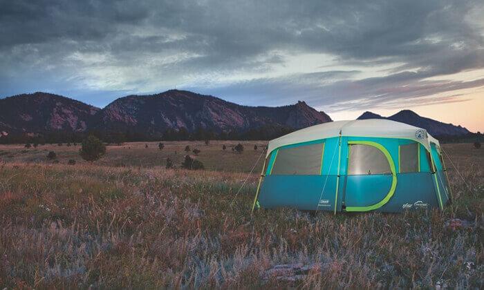 7 אוהל משפחתי ל-8 אנשים Coleman דגם TENAYA LAKE