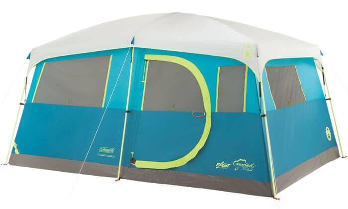 2 אוהל משפחתי ל-8 אנשים Coleman דגם TENAYA LAKE