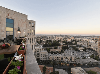 חופשה זוגית במלון בלב ירושלים