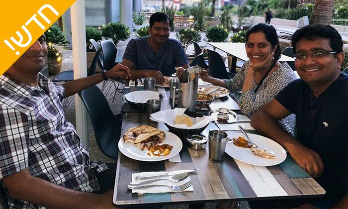 6 ארוחה הודית זוגית כשרה במסעדת קארילינה, רמת החייל - תל אביב